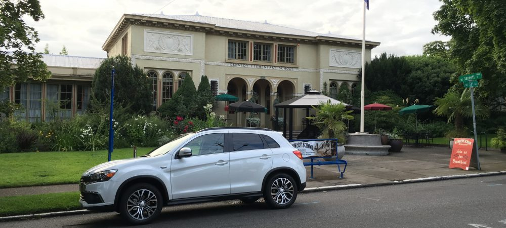 Portland Road Trip in the 2016 Mitsubishi Outlander Sport
