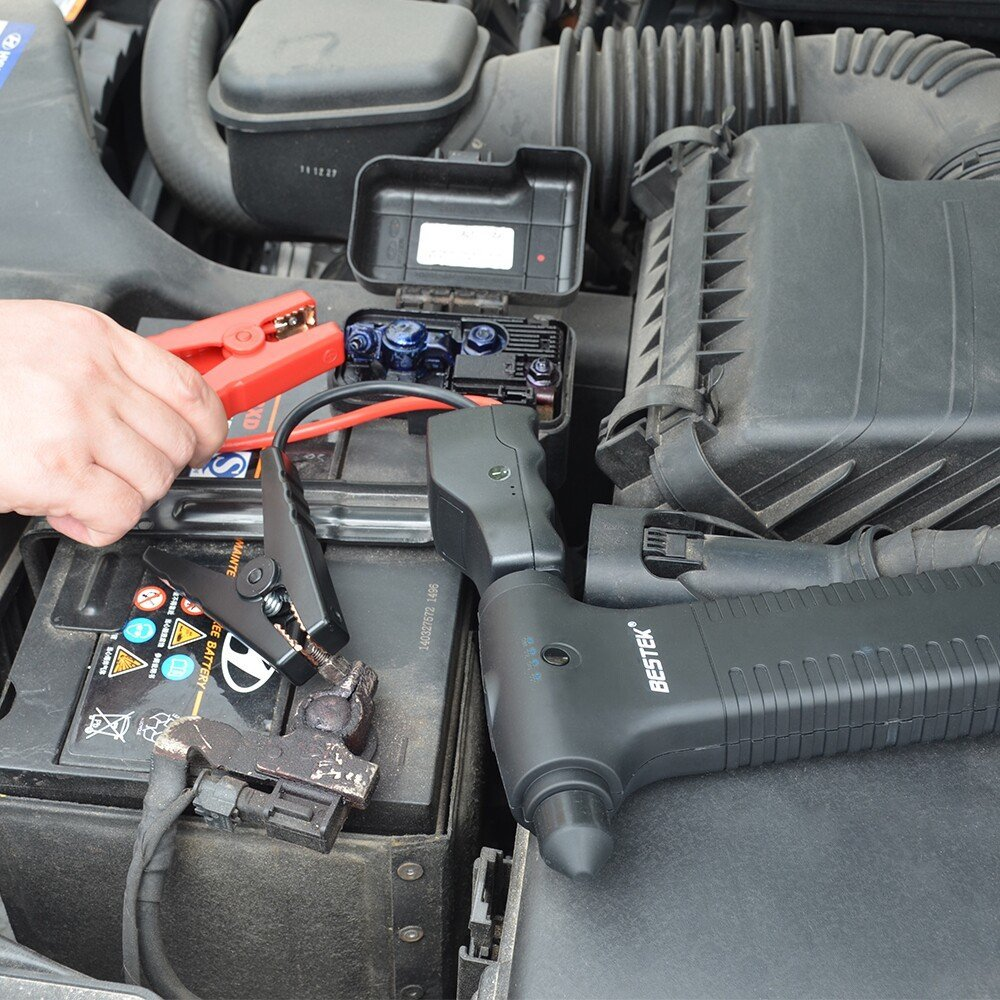 This 5-in-1 Car Jump Starter from BESTEK is Small Enough to Fit in the GloveBox but Powerful Enough to Keep You from Getting Stranded