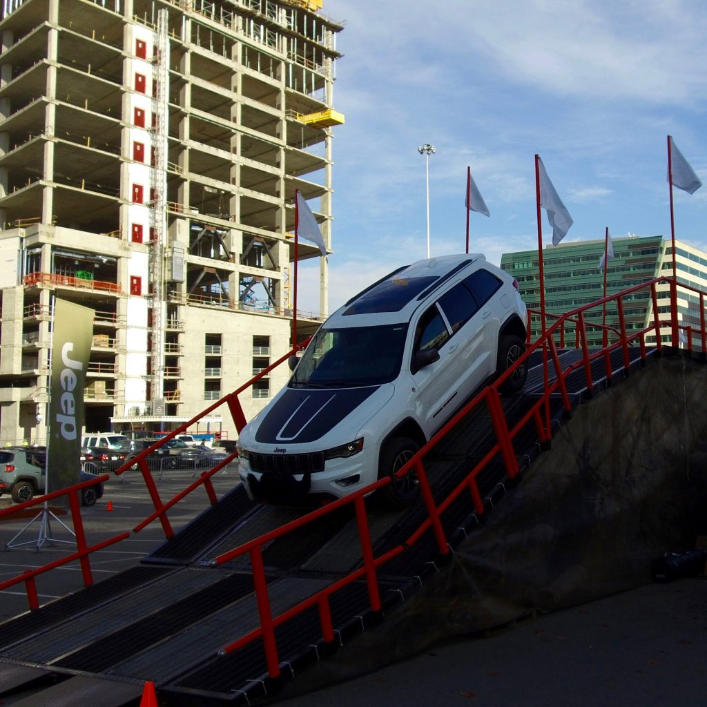 The Jeep Ride Along Experience at the Seattle Auto Show Was Full of Thrills